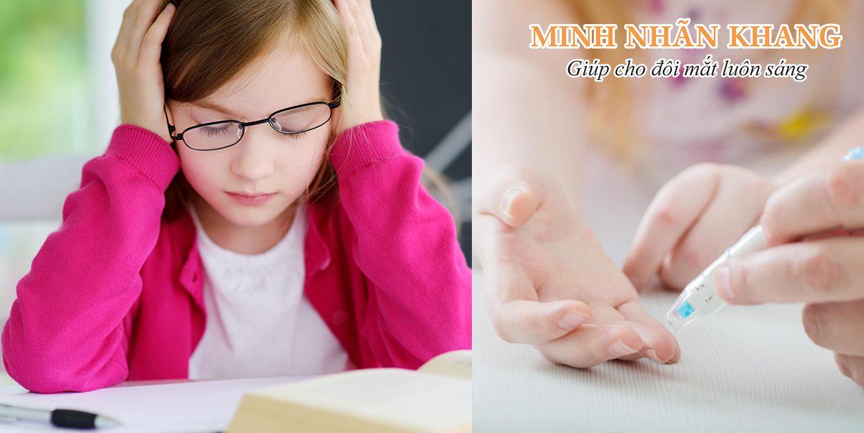 Đục thủy tinh thể ở người trẻ tuổi bị tiểu đường gây cản trở học tập và rất dễ dẫn đến mù lòa